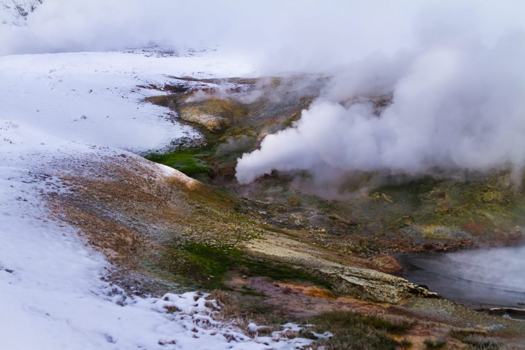 Geothermal in the Highlands - Icceland