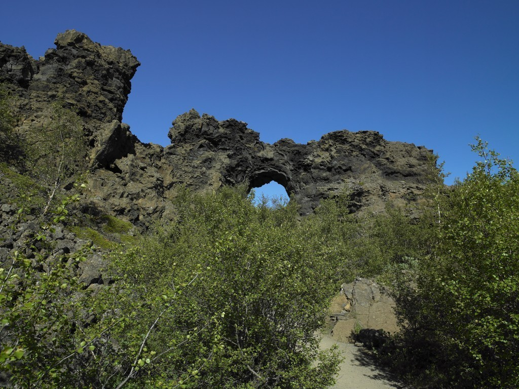 Dimmuborgir - myvatn area