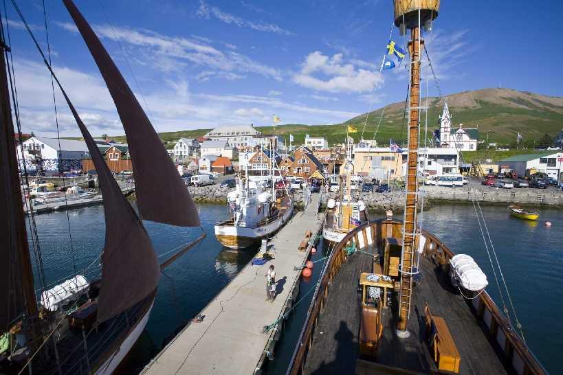 North Sailing waterfront