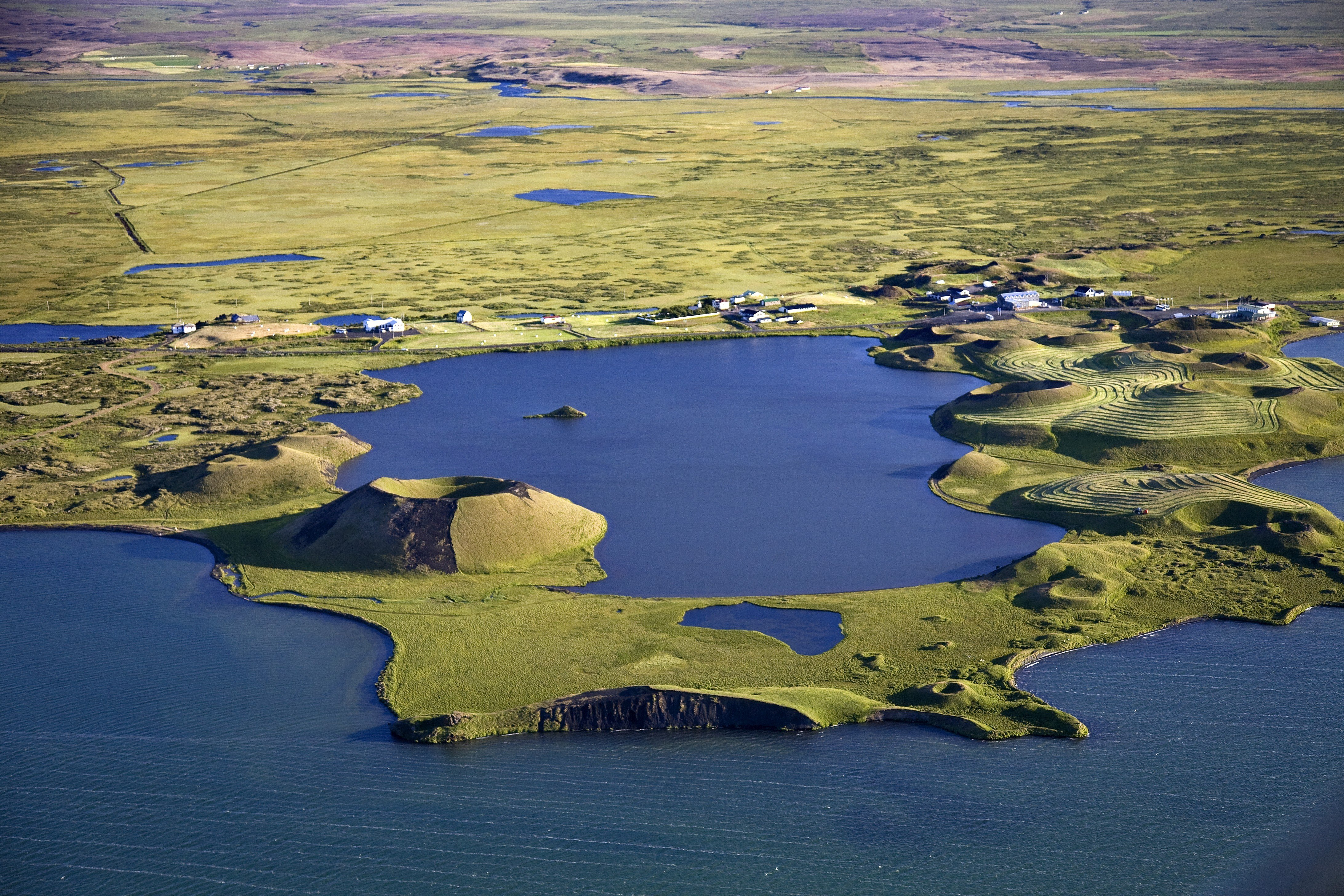 The Magical Mystery Lake Mvatn Icelandic Times