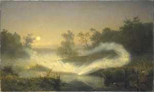 Elf Play by August Malmström, 1866