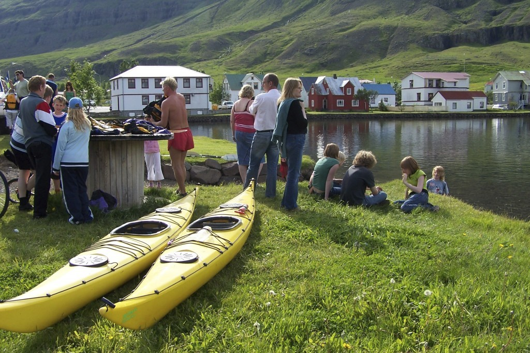Go kayaking from June - August 2