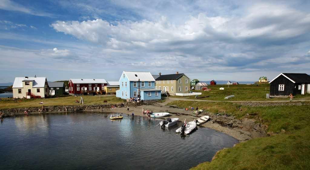Sumarstemning í Flatey á Breiðarfirði