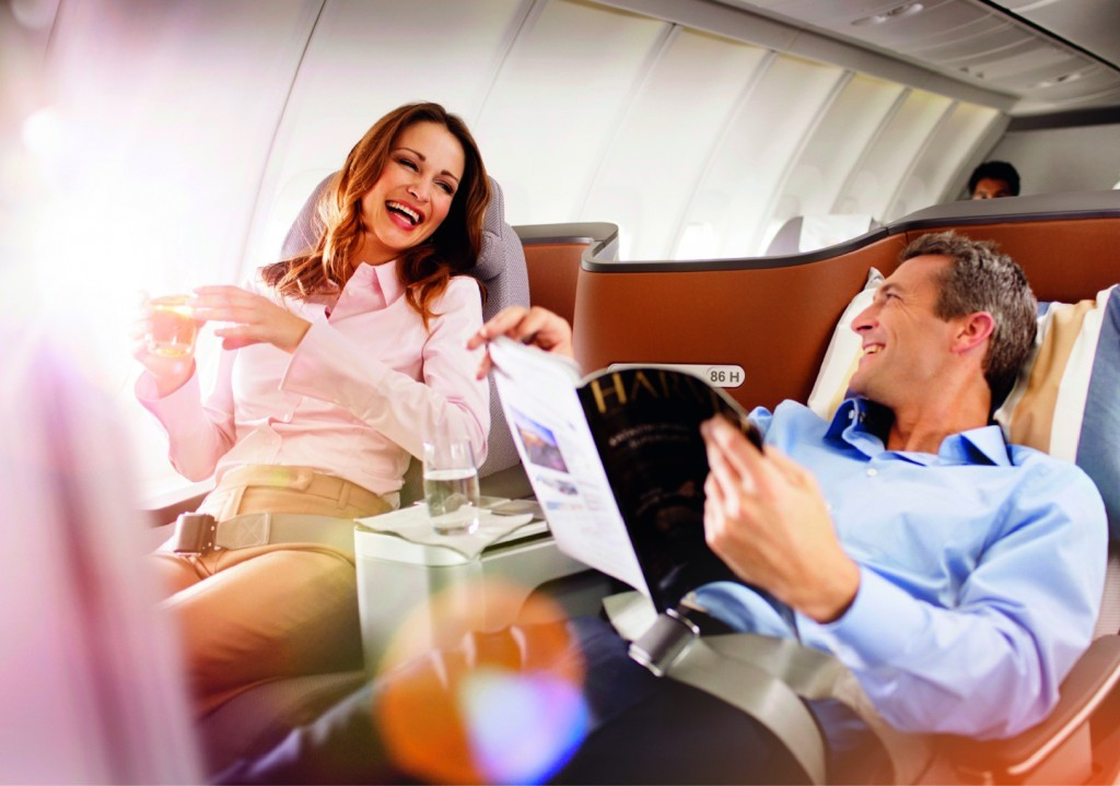Business Class Relaxed Flying