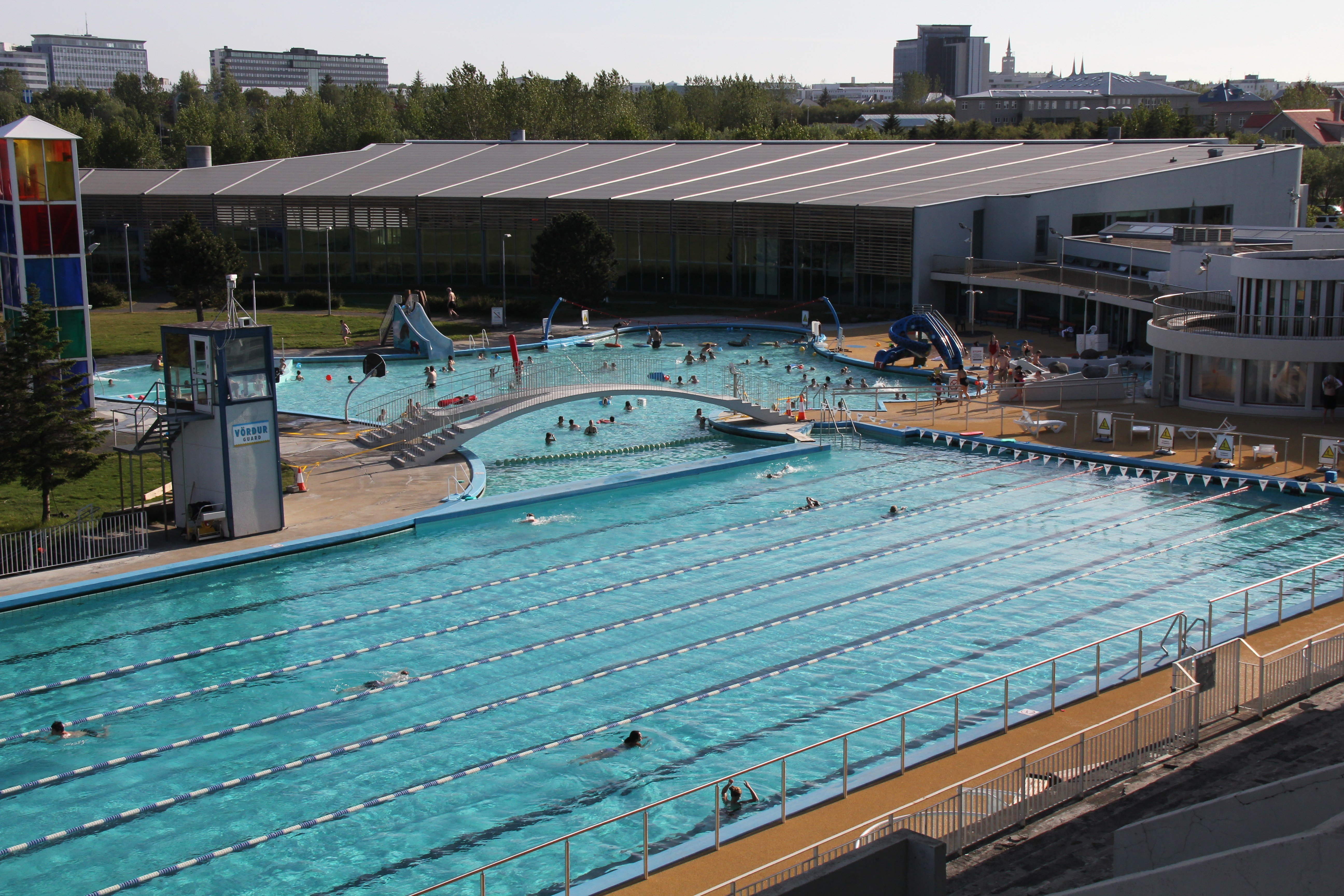 Laugardalslaug the most popular swimming pool in reykjavik for Swimming pool in