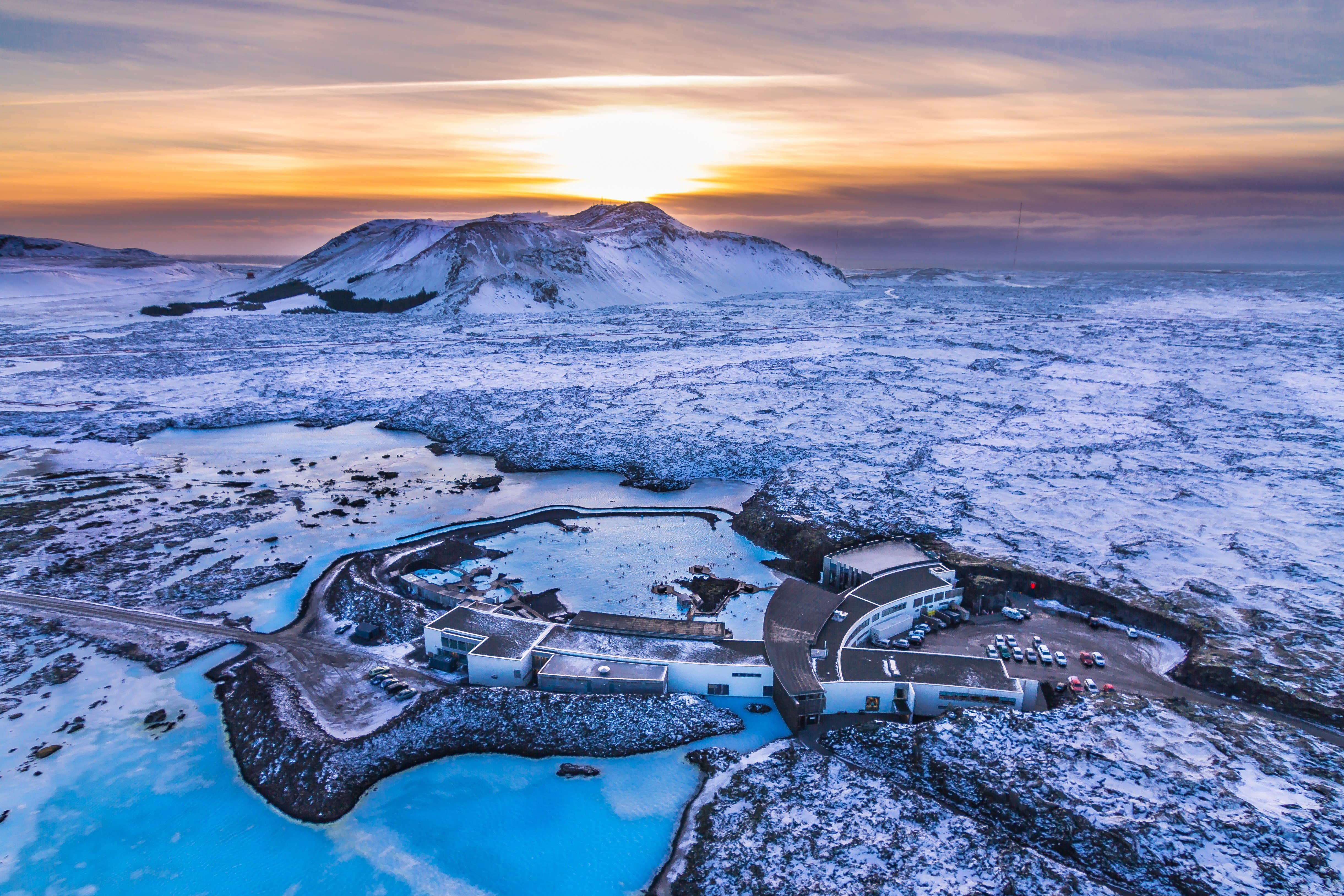 Blue Lagoon Spa in the middle of the Lava - Reykjanes - Iceland