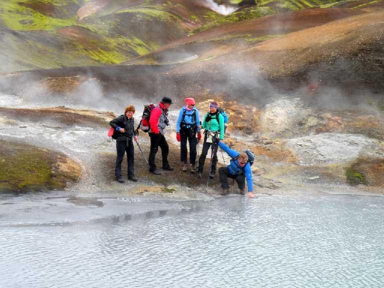Hverasvæði í Reykjadölum