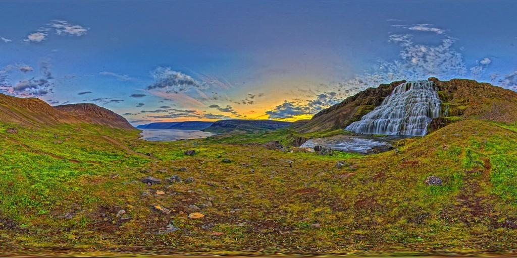 Dynjandi Waterfall - West fjords - Iceland