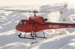 Norðurflug helicopter