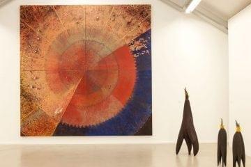 sculpture exhibition at Lá art museum