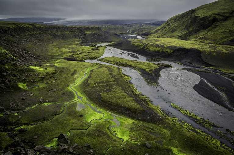 Blaflallakvisl du sud Fjallabak