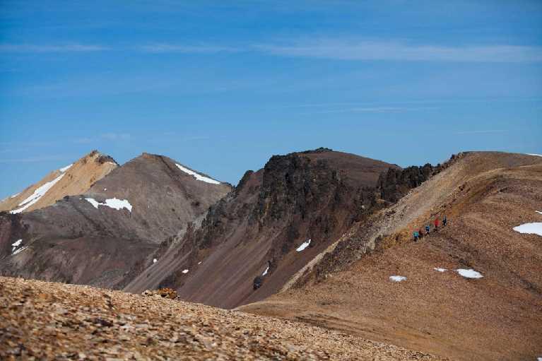 Hiking Gagnheidi-iceland icelandic times