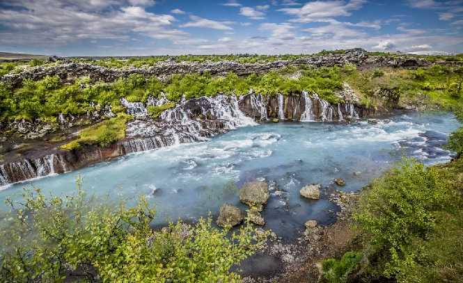 West Iceland 1 Hraunfossar