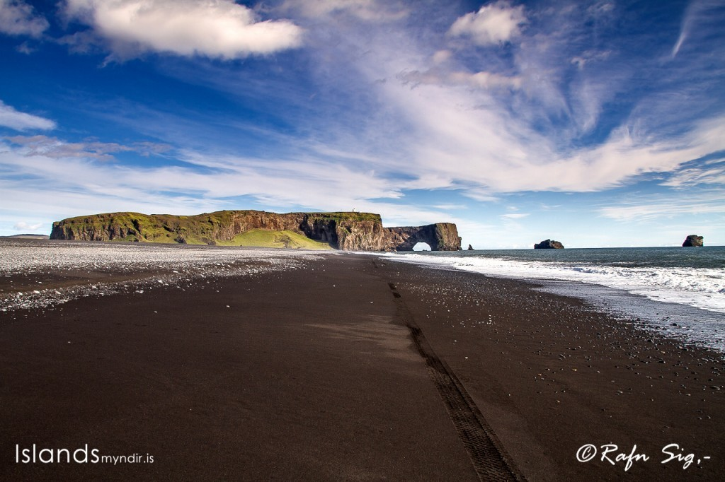 Dyrhólaey (120m) (formerly known as Cape Portland by English seamen) is located on the south coast of Iceland, not far from the village Vík.