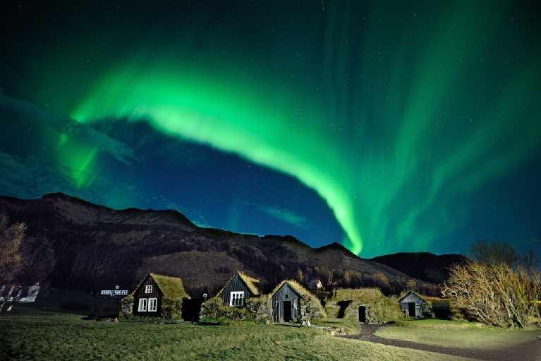 Aurora Borealis South Iceland