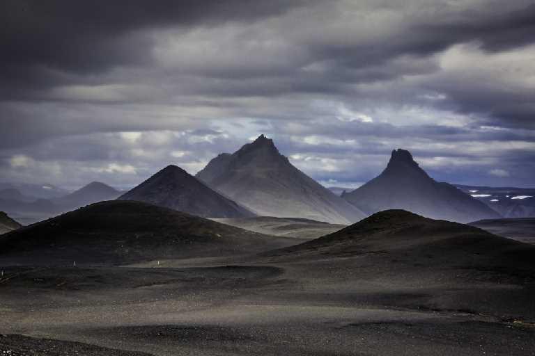 nothh of the glacier vatnajokull