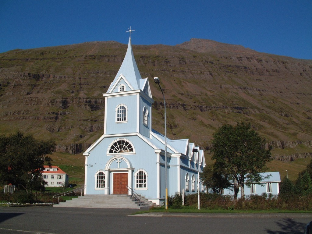 seydisfjordur seydisfjardarkirkja land og saga icelandic times