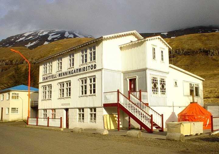 skaftfell menningamidstod seydisfjordur icelandic time