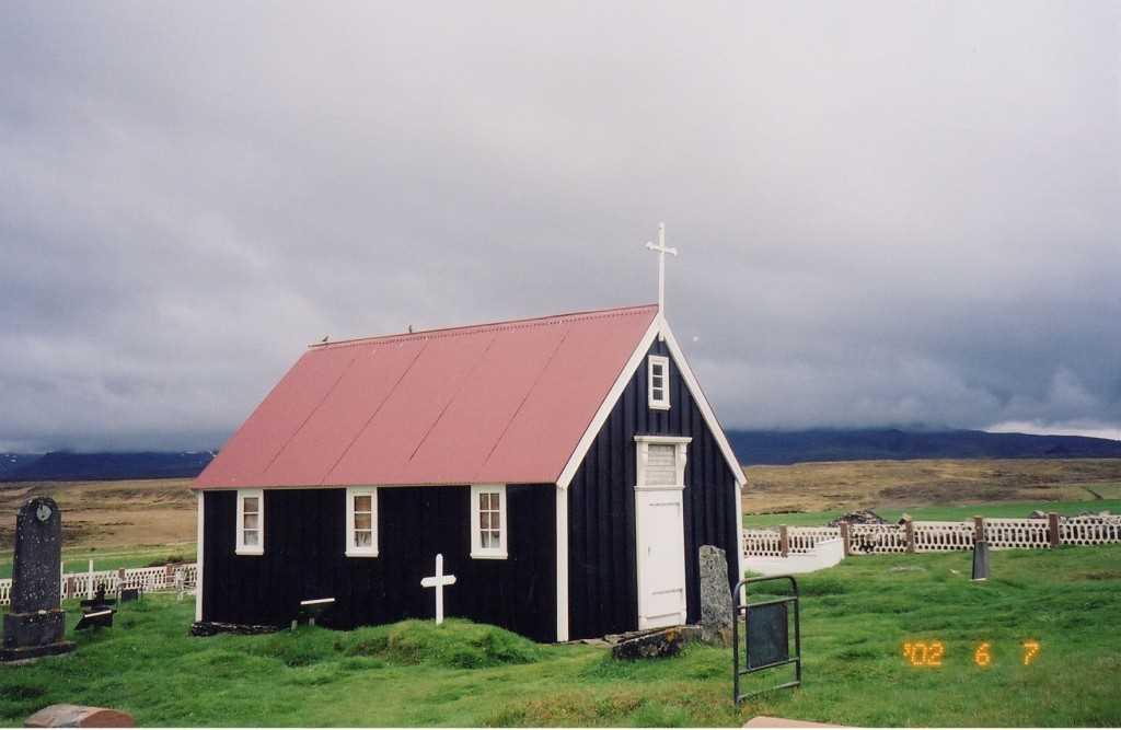 icelandic times Kirkjan i Bjarnarhofn