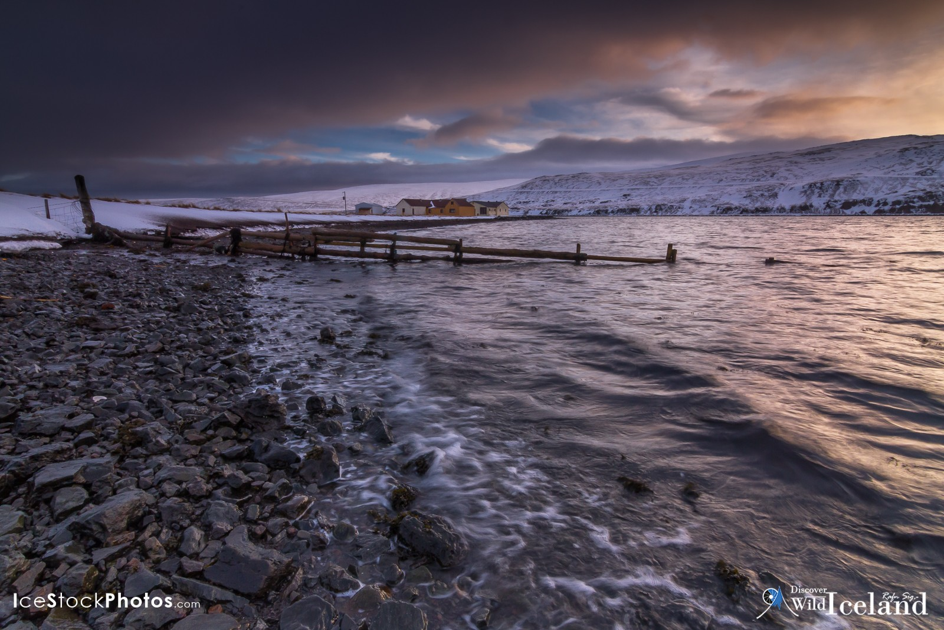 Óspakseyri in Bitrufjörður, Westfjords, Iceland