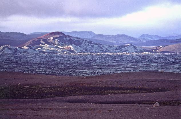 20. Screen Shot. Part of the Laki fissure