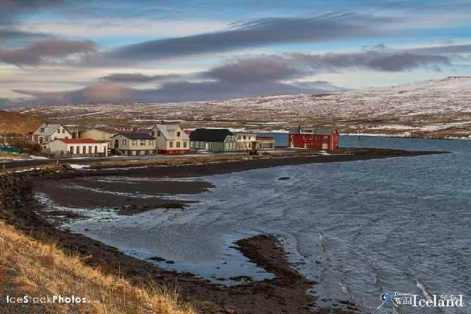 Borðeyri Village, Hrútafjörður, Westfjords, Iceland