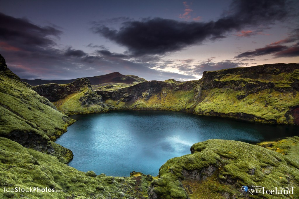 Laki or Lakagígar (Craters of Laki) is a volcanic fissure in the south highlands of Iceland,. Lakagígar is the correct name, as Laki mountain itself did not erupt, as fissures opened up on each side of it. Lakagígar is part of a volcanic system centered on the Grímsvötn volcano and including the Þórðarhyrna volcano. It lies between the glaciers of Mýrdalsjökull and Vatnajökull, in an area of fissures that run in a southwest to northeast direction.