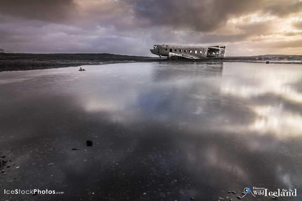 Airplane wrack at Sólheimasandur - Iceland