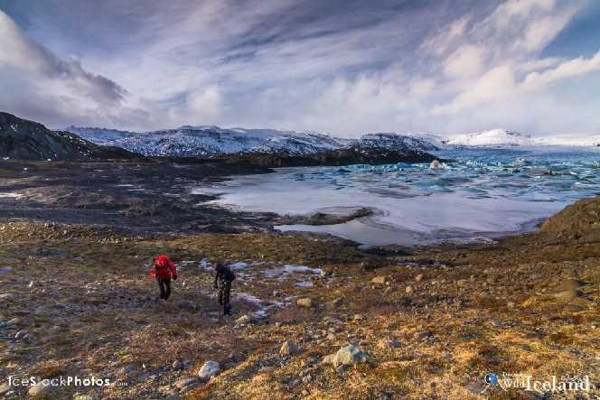 Svínafellsjökull glacier, South Iceland