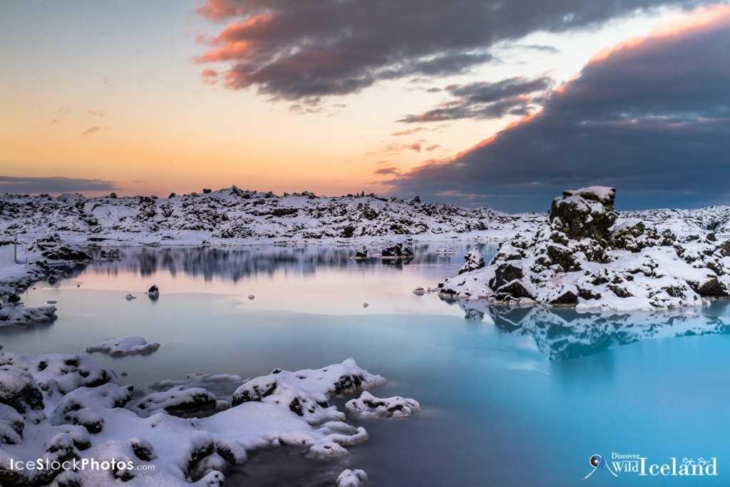 Dawn near Blue Lagoon - Reykjanes - Iceland