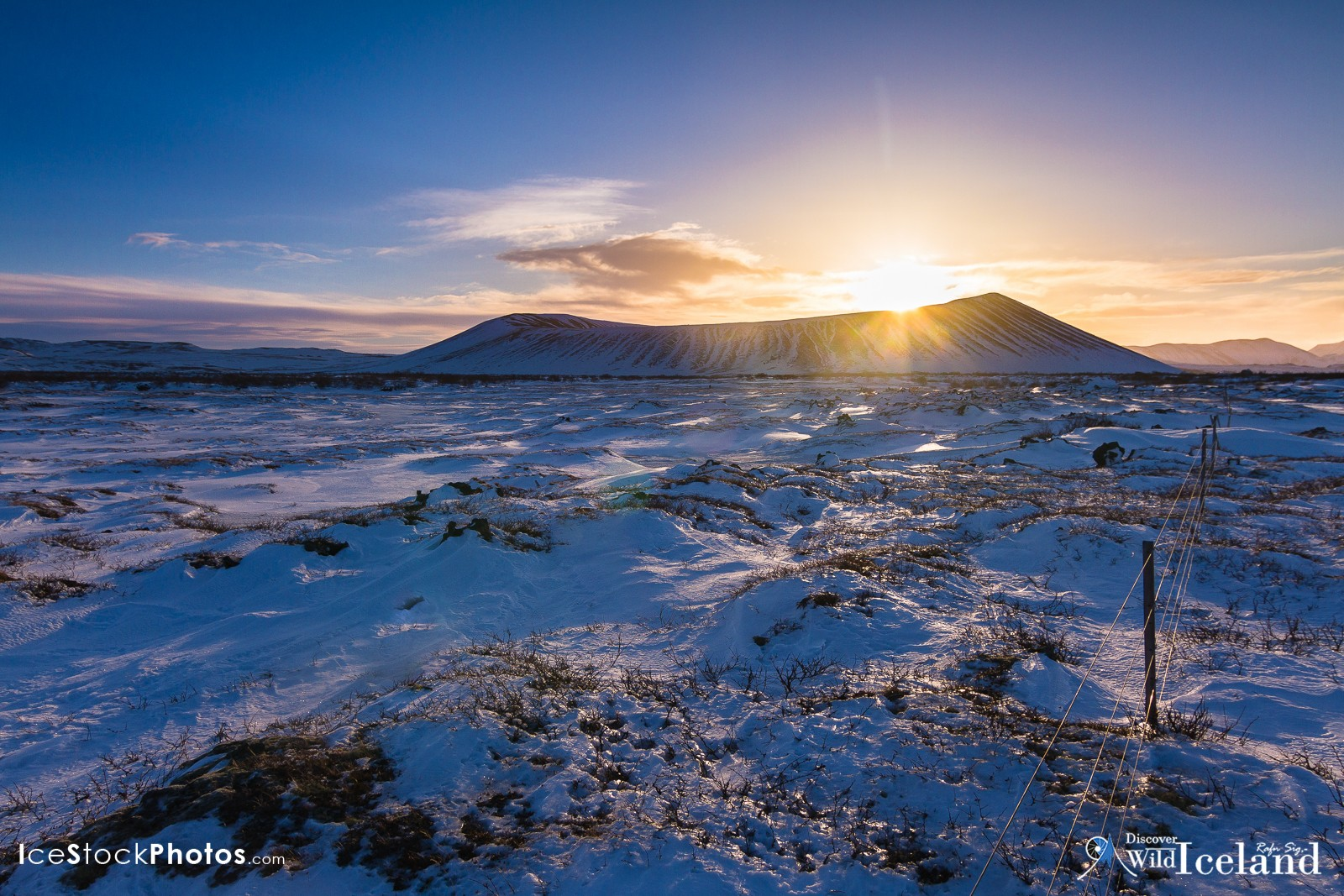 Hverfjall (also known as Hverfell) is a tephra cone or tuff ring volcano in northern Iceland, to the east of Mývatn, Iceland