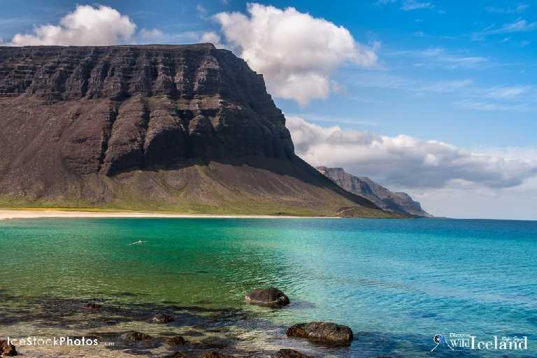 Gjögrabót is a bay in Patreksfjörður, Westfjords, Iceland.