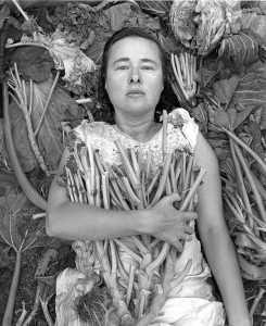 Agnieszka Sosnowska self portrait