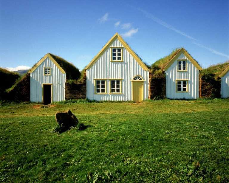Glaumbær byggðasafn, Skagafjörður  Glaumbaer folks museum in Skagafjordur
