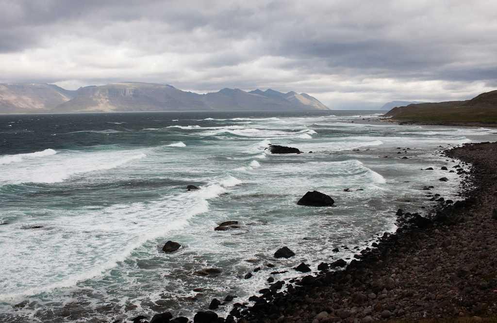 Sed  inn Arnarfjord ur Verdolum