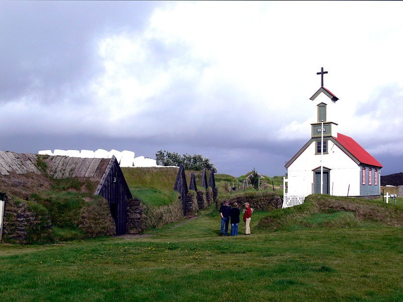 iceland Keldur_Kirche