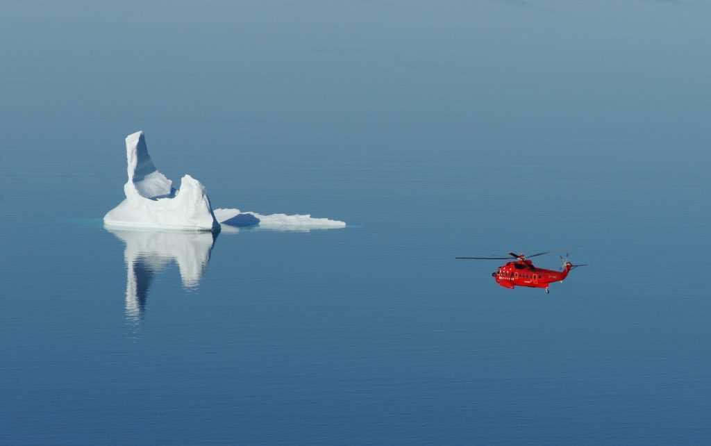 Flights to Greenland