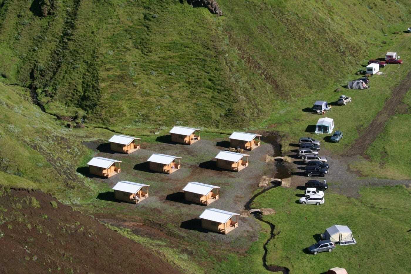 Þakgil camp site