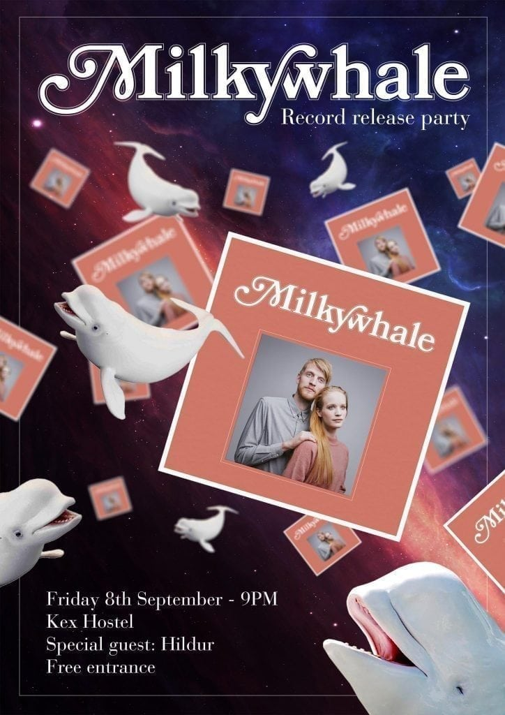 Milkywhale útgáfuparty