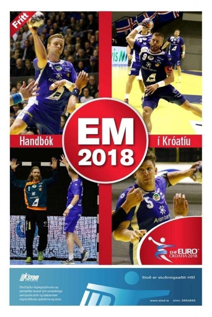 Handbók EM 2018 í Króatíu