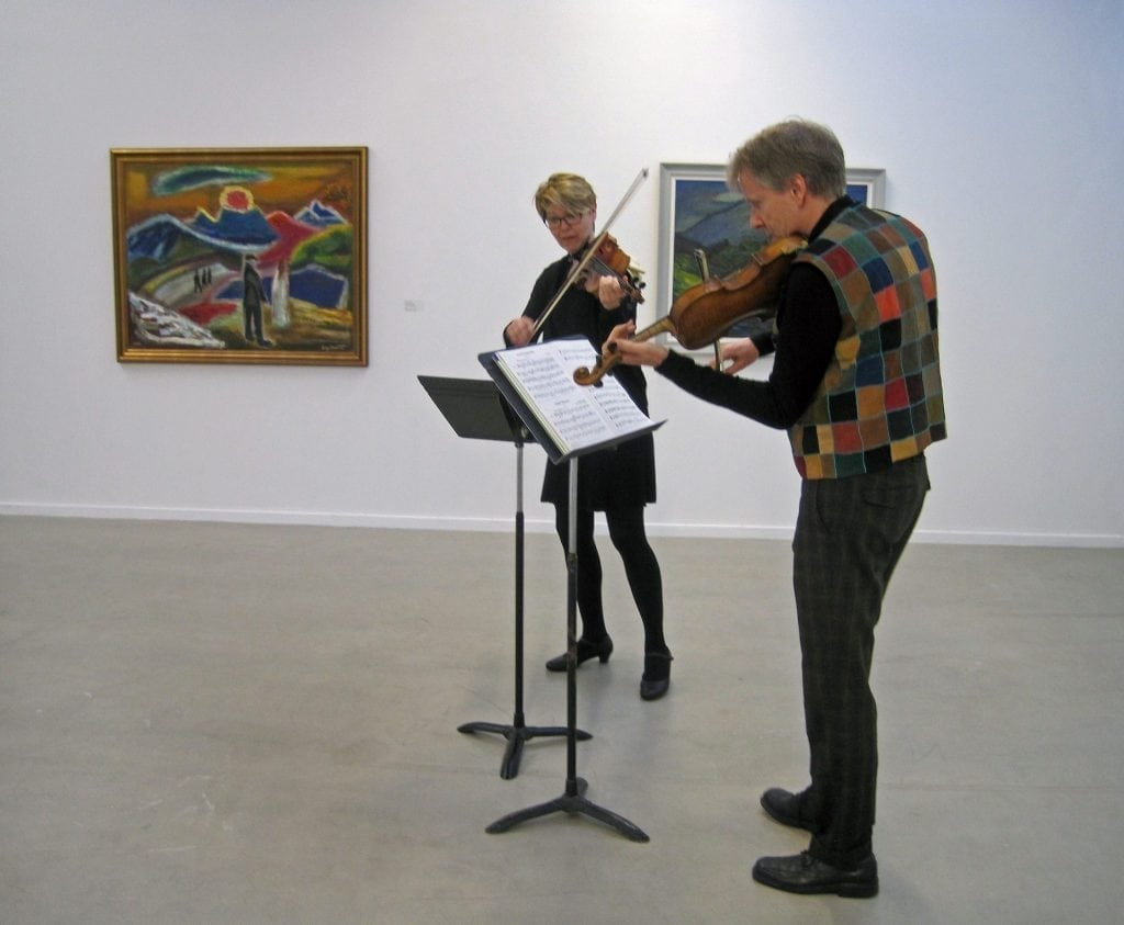Concert at Lá art museum