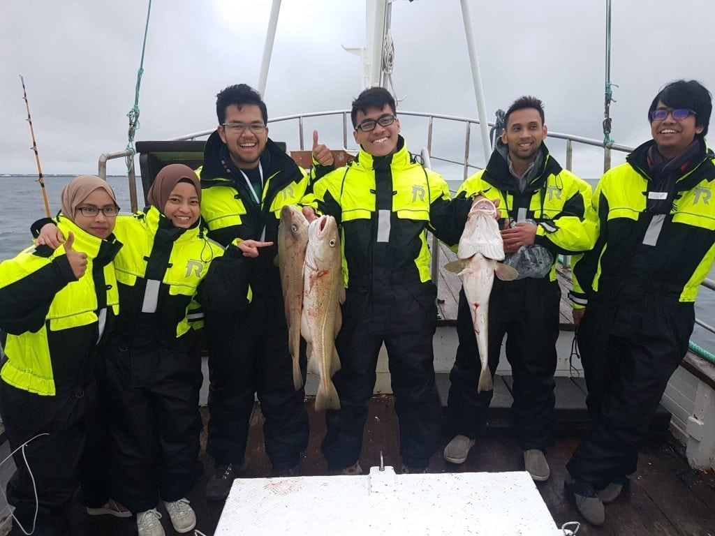 Sea Angling with whale watching Reykjanes