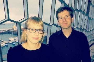 Hafdís Vigfúsdóttir og Grímur Helgason