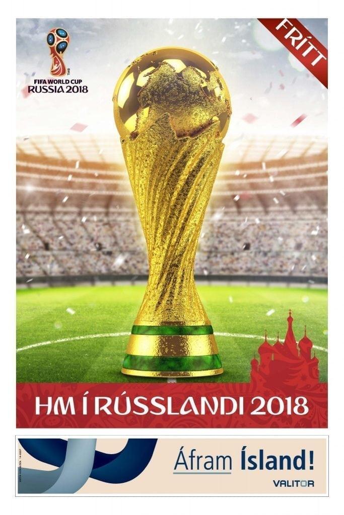 HM í Rússlandi 2018 bæklingur
