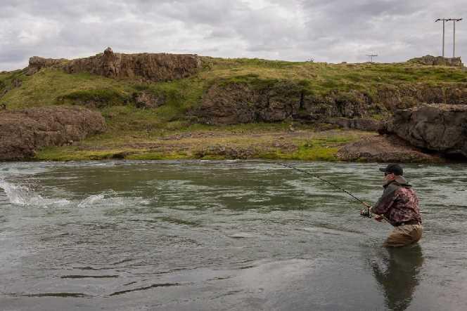 Blanda Lachsfluss