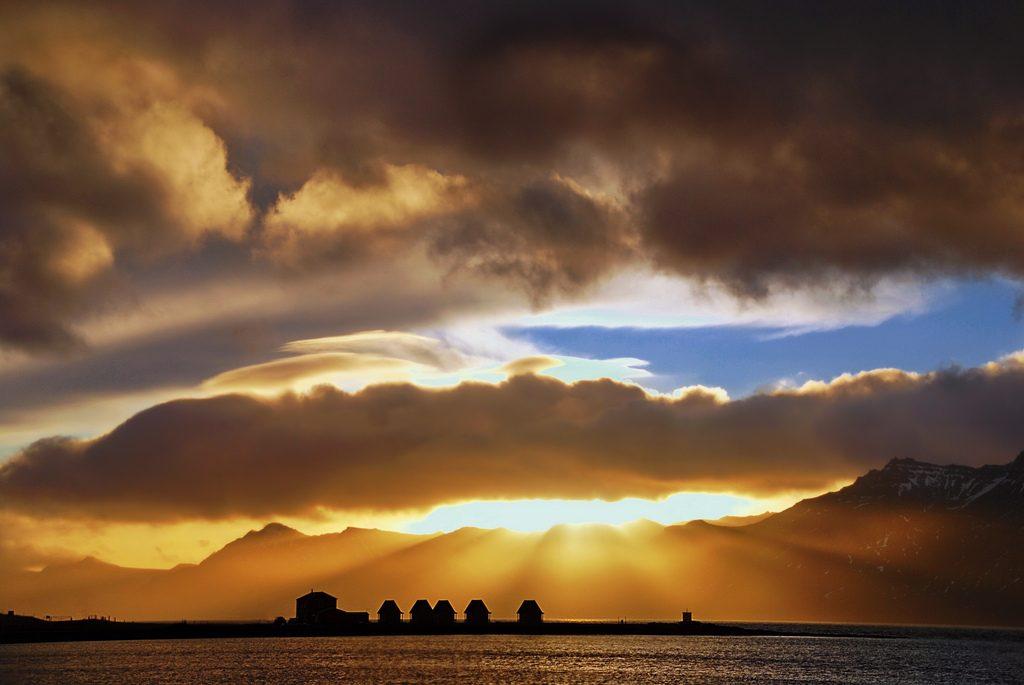Fáskrúðsfjörður Bay