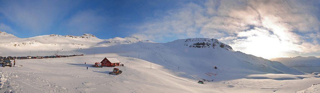 Fáskrúðsfjörður in winter