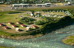 Glaðheimar Cottages & Camping