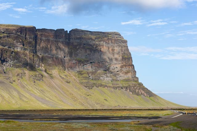 South Iceland mountain