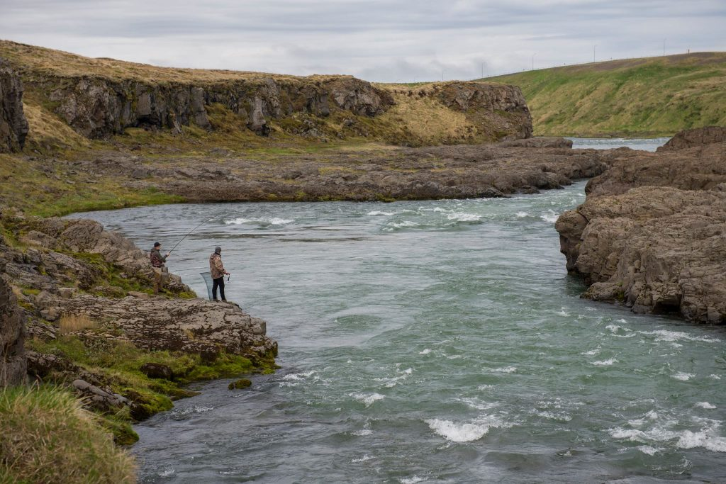 Rivière saumon Blanda